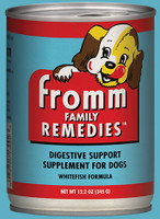 Fromm Remedies Digestive Support Supplement for Dogs - Whitefish Flavor 12.2oz