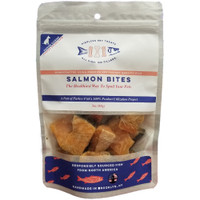 Pierless Freeze Dried Salmon Bites Dog Treats 3oz