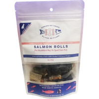 Pierless Freeze Dried Salmon Roll Dog Treats 3oz