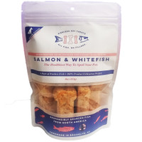 Pierless Freeze Dried Salmon & Whitefish Large Dog Treats  4oz