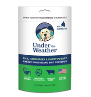 Under the Weather Rice, Hamburger & Sweet Potato Bland Diet for Dogs 6oz