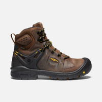 Keen Utility Men's Dover 6in Waterproof Carbon Fiber Toe Brown
