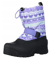 Northside Toddlers Frosty Winter Snow Boot Purple/Mint