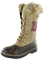 Northside Women's Bishop Faux Fur Lined Boot - Tan/Wine