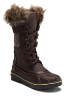 Northside Women's Bishop Faux Fur Lined Boot - Brown/Tan