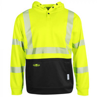 Aborwear HVSA Tech Double Thick Pullover Sweatshirt (Class 3) - Yellow