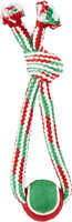 Ethical Pet Holiday Crinkle Ropes Dog Toy