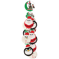 Ethical Pet Holiday Flat Jax  10inch Assorted Doy Toy