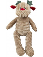 Ethical Pet Holiday Corduroy Reindeer Doy Toy 18 inches