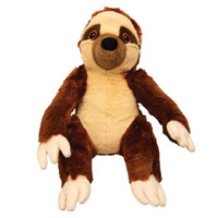 SnugArooz Sasha the Sloth Dog Toy 11""