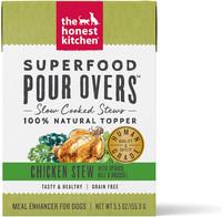 Honest Kitchen Bone Broth Pour Over Chicken Stew Wet Dog Food Topper 5.5oz