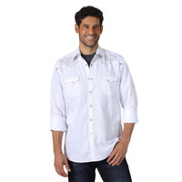 Wrangler® Men's Rock 47® Long Sleeve Shirt  - White