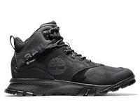 Timberland Men's Garrison Trail Waterproof Mid Hiking Boots - Black
