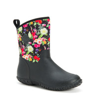 Muck Women's Muckster II Mid Black and Floral