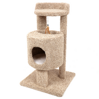 Ware Pet Products Cutout Condo Cat Furniture