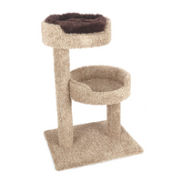 Ware Pet Products Two Story Perch with Donut Bed Cat Furniture