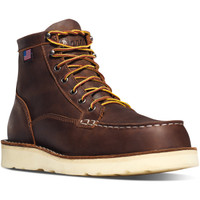 Danner Men's Bull Run Moc Toe Brown Boots