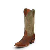 Nocona Men's Talli Washed Buck Square Toe