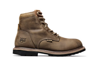 "Timberland Pro Men's Millworks 6"" Waterproof Soft Toe Boot Brown"