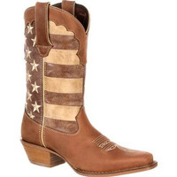 Durango Women's Crush Distressed Flag Boot