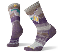 Smartwoll Women's PhD Outdoor Crew Mountain Purple Sock