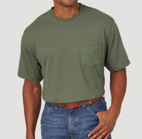 Wrangler Men's RIGGS Workwear® Short Sleeve 1 Pocket Performance T-Shirt