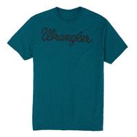 Wrangler Men's Script Screenprint Short Sleeve T-Shirt