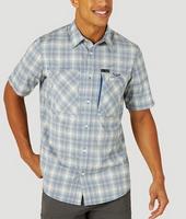 Wrangler Men's ATG Short Sleeve Button Down Shirt