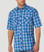 Wrangler Men's 20X Competition Short Sleeve Button Down
