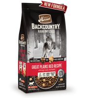 Merrick Backcountry Raw Infused Great Plains Red Recipe Dog Food 20lb