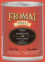 Fromm Turkey and Pumpkin Pate Dog Food 12.2oz