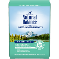 Natural Balance Limited Ingredient Chicken and Sweet Potato Dog Food 24lb