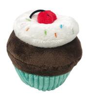 Dogline Mini Turquoise Cupcake Dog Toy