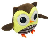 Dogline Mini Owl Dog Toy