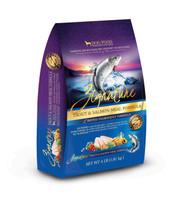 Zignature Trout and Salmon Grain and Gluten Free Limited Ingredient Formula Dry Dog Food