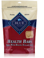 Blue Buffalo Bacon Egg and Cheese Health Bars Dog Treat