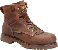 "Carolina Men's 6"" Waterproof Grizzly Boots - Brown"