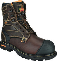 Thorogood Men's 8'' Waterproof Insulated Safety Toe Work Boots - Brown