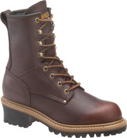 Carolina Women's 8'' Logger Work Boots - Brown