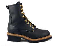 Carolina Men's 8'' Waterproof Logger - Black