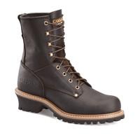 Carolina Men's 8'' Steel Toe Logger Work Boots - Brown