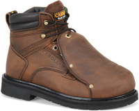 "Carolina Men's 6"" External MetGuard Steel Toe Work Boots - Brown"
