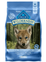 Blue Wilderness Puppy Chicken Dry Dog Food