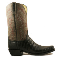 Lucchese Men's Ultra belly Caiman Western Boot