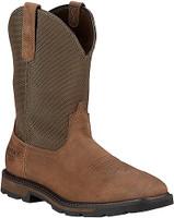 Ariat Men's Groundbreaker Waterproof Steel Toe Work Boots - Brown