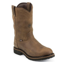Justin Men's Wyoming Worker II Waterproof Insulated Work Boots - Brown