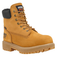 "Timberland Pro Men's Direct Attach 6"" Steel Toe Waterproof Insulated Wheat"