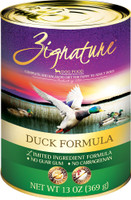 Zignature Duck Formula Limited Ingredient  Canned Dog Food