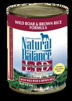 Natural Balance Wild Boar Canned Dog Food 13oz