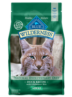 Blue Buffalo Wilderness Duck Recipe Dry Cat Food